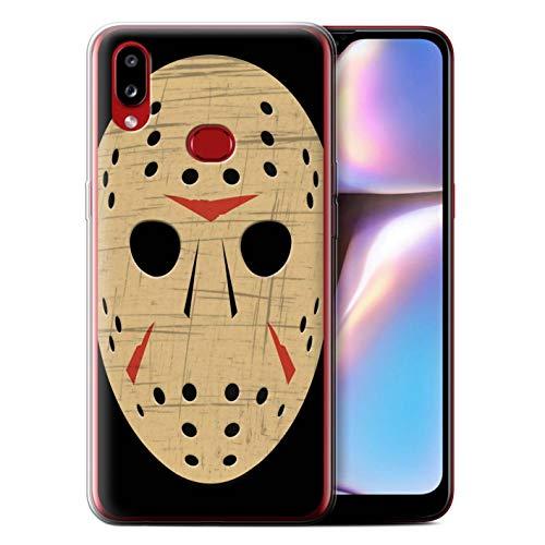 eSwish Gel TPU telefoonhoesje/hoes voor Samsung Galaxy A10s (2019) / Jason Vorhees masker Geïnspireerd ontwerp/Horror Movie Art Collection