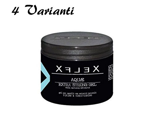 GEL CAPELLI EDELSTEIN PROFESSIONALE XFLEX 500ML EXTRA STRONG AQUAE - FRUIT - MYTHOS - COOLSTYLE QUATTRO VARIANTI (AQUAE)