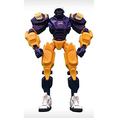 Foam Fanatics NFL Fox Sports Team Robot, 25,4cm, Donna Bambino Unisex Uomo, San Diego Chargers
