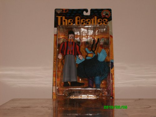 Beatles The Yellow Submarine RINGO STARR with Blue Meanie 8' Action Figure (1999 McFarlane)