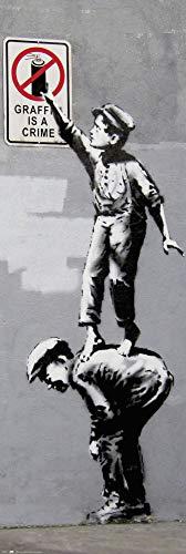 Grupo Erik Poster Puerta, Multicolor, 53x158 cm