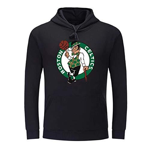 JX-PEP Irving 11 Basketbal Training Pak Fleece Hoodiewinter Trui, Sweatshirts met Kangoeroe Pockets Effen kleur Hoody mannen lange mouwen Pullover Hoodie