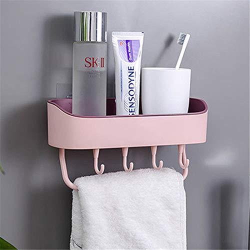 SUZONC Badezimmer Rack Wand Bad Lagerregal Kostenlose Punch Wand Wc Wc Waschtisch Handtuchhalter 27 * 14 * 4,5 cm