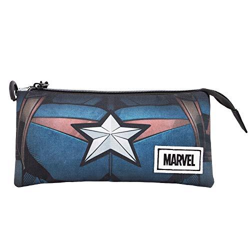 Captain America Chest Etui, 3-voudig HS