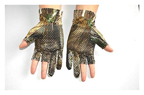 LUOSI Farbe Angeln Handschuhe High-End (Color : 1, Size : S/M)