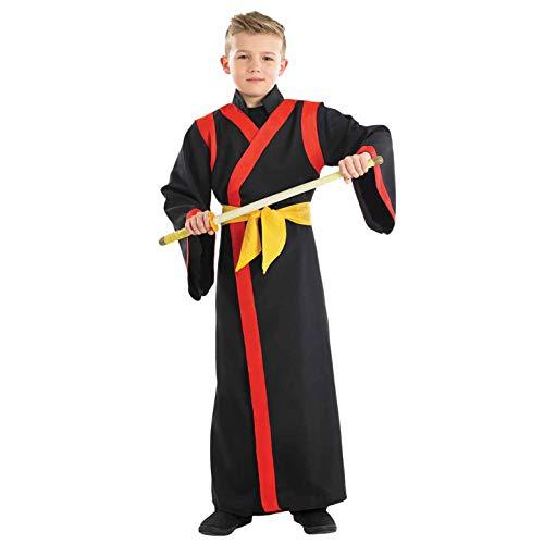 Fun Shack Negro Samurái Disfraz para Niños - M