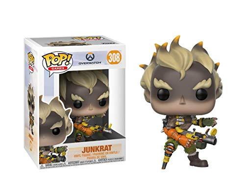 Funko 29045 Overwatch 29045 Games Junkrat Pop Vinyl Figure, Multi