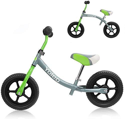 YOLEO Bicicletta Senza Pedali, Bici Senza Pedali Bicicletta Bambini 2-5 Anni/Balance Bike con Manubrio Girevole a 360 °/Giochi Bambini