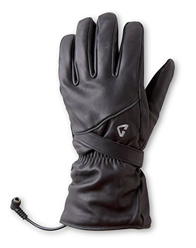 Gerbing G4 Heated Gloves for Women – Water-Resistant 12V Battery Heated Motorcycle Gloves with Microwire Heating for Cold Weather Riding, Skiing, Sports, Hunting, Cycling, and Outdoor Camping - Black