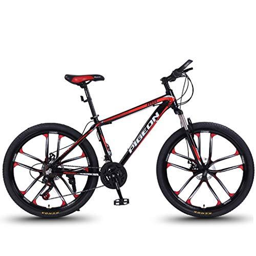Mountain Bike Bicicletta MTB Sportiva da Montagna 26' Mountain Biciclette 24/27/30 Costi Uomini Leggera in Lega di Alluminio Donne/Struttura della Bici Full Suspension Freni A Disco Mountain Bike Me