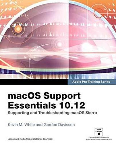 MACOS SUPPORT ESSENTIALS 1012 (Apple Pro Training)