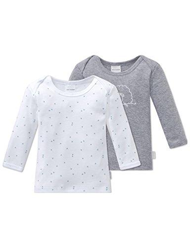 Schiesser Schiesser Baby-Jungen 2pack Shirts 1/1 Schlafanzugoberteil, Mehrfarbig (Sortiert 1 901), 62 (2er Pack)