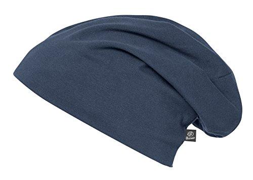 Brandit Unisex Beanie Jersey Uni Strickmütze, Blau (Navy 8), Medium (Herstellergröße: M/L)