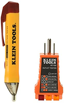 KLEIN TOOLS NCVT2KIT Basic Voltage Test Kit