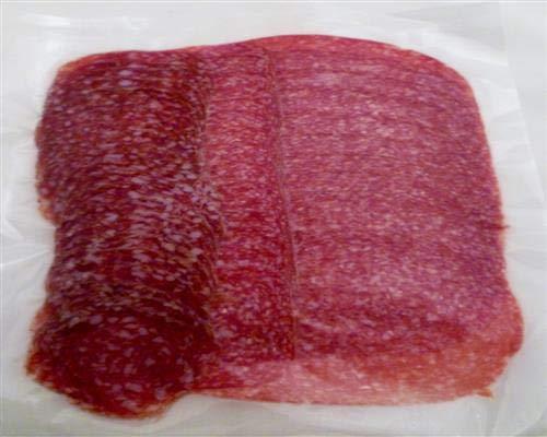 Salamiaufschnitt geschnitten 200 gr 3 Sorten vom Metzger keine Fabrikware Wurst Bayern