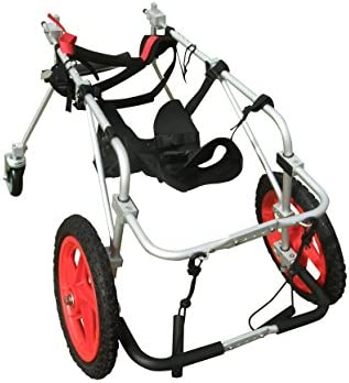 Best Friend Mobility Quad 4 Four Wheel Full Support Pet Dog Wheelchair Cart