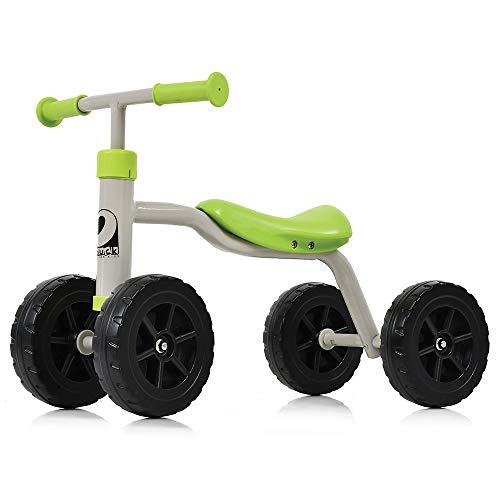 Hauck Toys for Kids Laufrad Baby Rutscher First Ride - stabiles, kippsicheres Lauflernrad für Kinder von 1-3 Jahren (Grün)