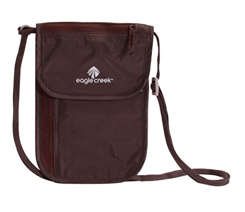 Eagle Creek Undercover Neck Wallet DLX, Mocha Portadocumenti da collo, 20 cm, Marrone (Mocha)