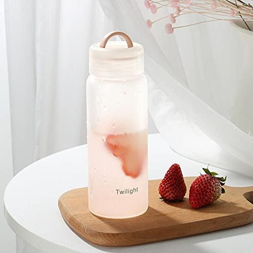 TAIJUN - Botella de agua plegable retráctil portátil de silicona de 500 ml, apta para fitness al aire libre y a la carrera de larga distancia, se puede reutilizar