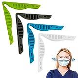 Dioxide Clip Anti-Appannamento per Ponte Nasale, 4 Pezzi Anti-Appannamento Naso per Ponte Nasale Clip di Supporto per Evitare Lappannamento degli Occhiali da Vista