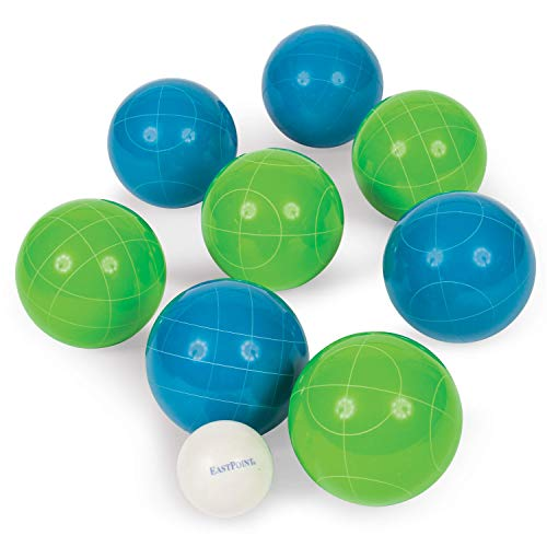 EastPoint Sports Resin Bocce Ball Set - Features Deluxe Carry Case -...