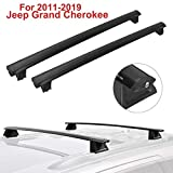 ALAVENTE Crossbars Roof Rack Replacement for Jeep Grand Cherokee 2011-2020, Luggage Crossbars for Grand Cherokee 11-20, (Factory Side Rail Need)