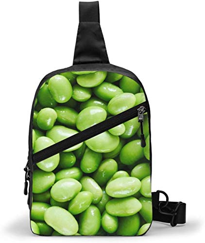 Bolsa bandolera de soja, bandolera de hombro, para senderismo, viajes, bolsa de bolsillo personal para mujeres, hombres, resistencia al agua