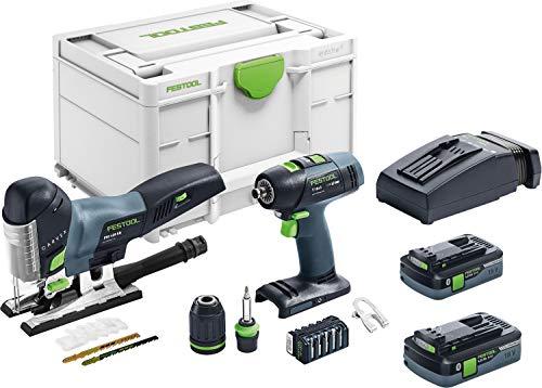 Festool Set de montaje a batería T 18+3/PSC 420 I-Set