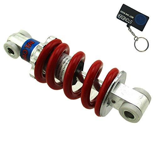 STONEDER Suspensión de choque de resorte de 125 mm para 2 tiempos, 33 cc, 43 cc, 47 cc, 49 cc, 49 cc, Mini Moto Kids Quad ATV Pocket Dirt Bike Minimoto Go Ped Scooter