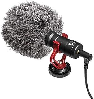 BOYA-BOYA BY-MM1+ Professional Video Audio Recording Microphone On-Camera Mic Super Cardioid Pickup Pattern Condenser Micr...