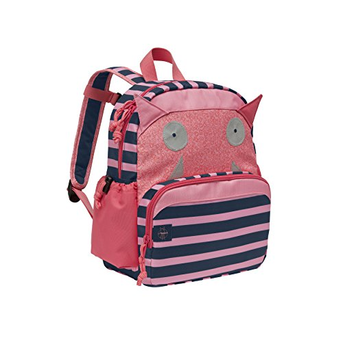 LÄSSIG Kinderrucksack Little Monsters Medium mit Brustgurt Mädchen Junge Kindergartentasche Kindergartenrucksack / Medium Backpack Little Monsters Mad Mabel