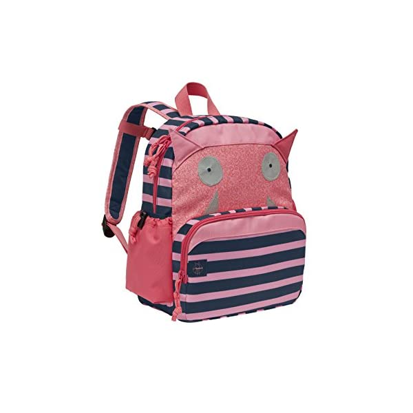 LÄSSIG Mochila Infantil para niños Medio/Medium Backpack, Little Monsters, Mad Mable