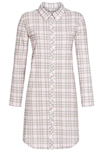Ringella Damen Nachthemd durchgeknöpft rosa 42 0511013, rosa, 42