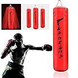 Saco de Boxeo,Bolso Pesado De Boxeo, Bolsa de perforación para entrenamiento de boxeo, bolsas pesadas rellenas con punzonado, bolsas de perforación colgando, para luchas, kickboxing, muay tailandés, k