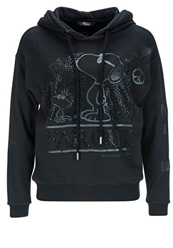 Princess goes Hollywood Damen Snoopy Sweat Hoody (L, Nero)