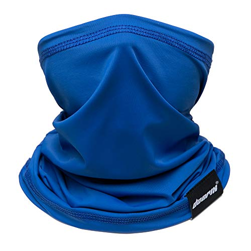 Doerix Kids Face Mask Reusable, Cloth Kid Face Masks Neck Gaiter Washable Bandana Face Mask, Sun Dust Protection Balaclava Face Cover Scarf Shield for Fishing Runing Hunting Cycling