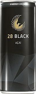 28 BLACK AÇAI   静かなるエナジィ (アサイー, 24本パッケージ) エナジードリンク