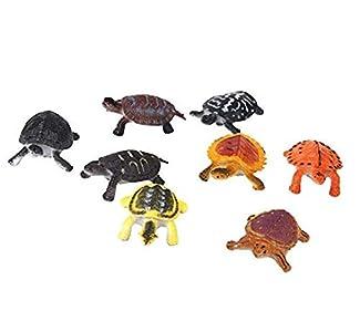 TrifyCore 8 Piezas de Juguetes de plástico de PVC Tortuga para niños