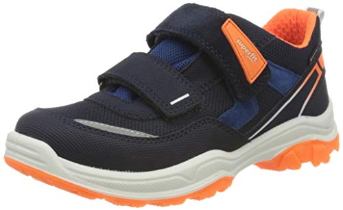 Superfit Jungen Jupiter Sneaker, Blau (Blau/Orange 80), 29 EU