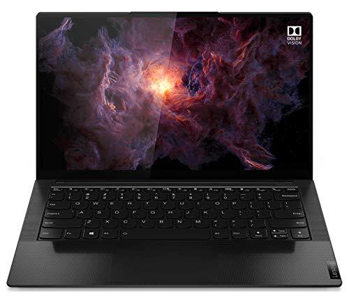 Lenovo Yoga Slim 9 - Ordenador Portátil 14' UHD (Intel Core i7-1165G7, 16GB RAM, 1TB SSD, Intel Iris Xe Graphics, Windows 10 Pro) Negro - Teclado QWERTY Español