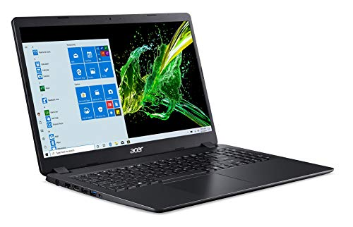 Acer Aspire 3 Intel Core i3-10th Gen 15.6 - inch 1920 x 1080 Thin and Light Laptop (4GB Ram/1TB HDD/Window 10/Integrated Graphics/Shale Black/1.9 kgs), A315-56