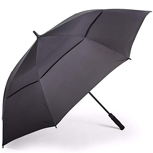pyty123-umbrella Automatischer Werbe-Regenschirm Für Geschäftszwecke Zur Erhöhung des Doppelten Geraden Sonnenschirms Mit Doppeltem Einsatz