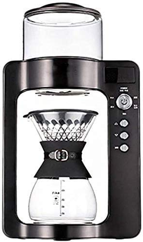 YYhkeby Intelligente Kaffeeutensilien Kaffeevollautomat Haus Gewerbe Boutique Espressomaschine Bürotemperaturregelung Kaffeemaschine Antitropffunktion 1350W, Schwarz Jialele