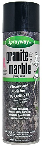 Sprayway SW702R Aerosol Granite & Marble Spray, 19 oz