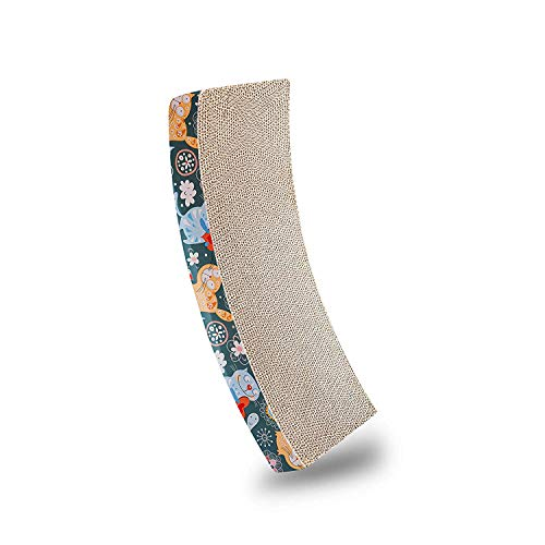 Bontoy - Cartón rascador para Cuna (50 x 25 x 9 cm)