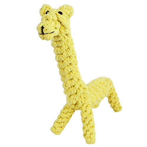GOCooper Giraffe Puppy Chew Dog Toys Cotton Dental Teaser Rope Teeth...