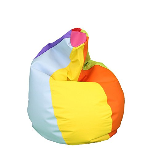 HAPPERS Puff Pera Polipiel Indoor Multicolor Infantil