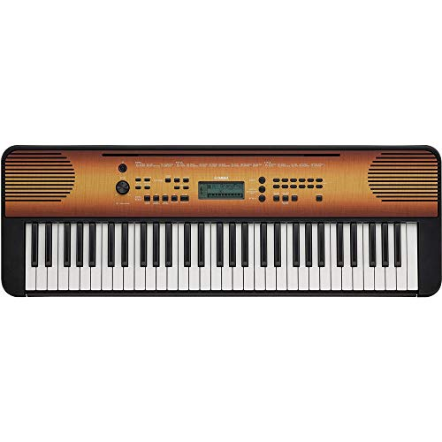Yamaha Digital Keyboard PSR-E360MA, Ahorn