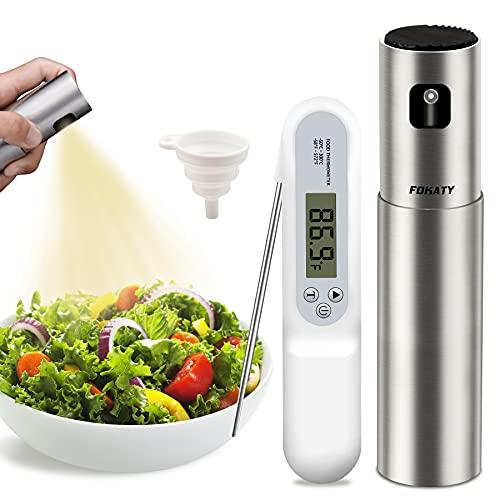 Oil Sprayer for Cooking, 100ml Olive Oil Dispenser Bottle Spray Mister