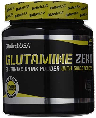 BioTech USA IAF00094646 Glutamine Zero, 300 g, Limone